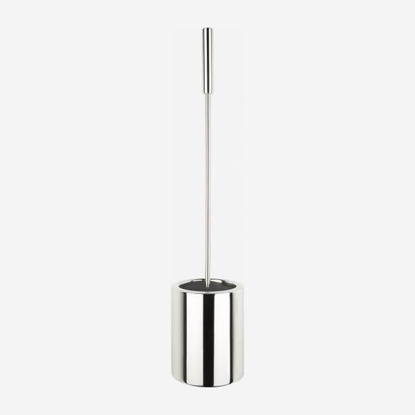 Toilet brush in stainless steel