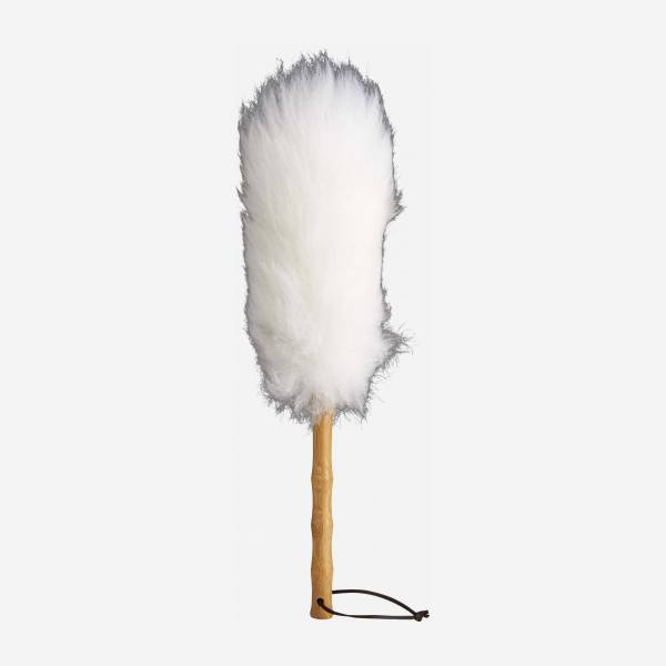Feather duster made of ostrich feathers