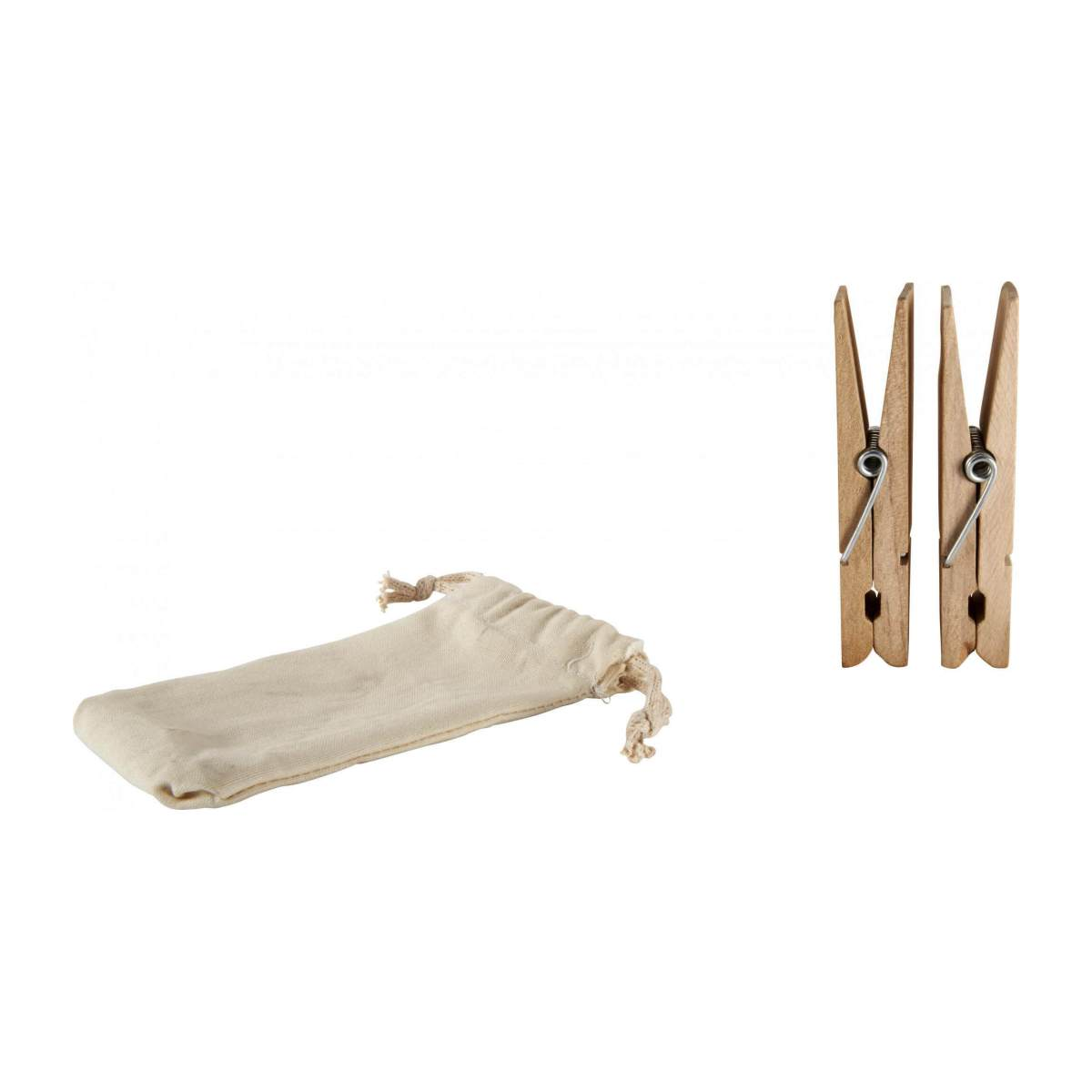 2 wooden clothes pegs n°2