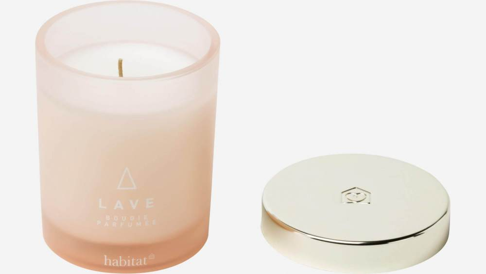 Lave small scented candle