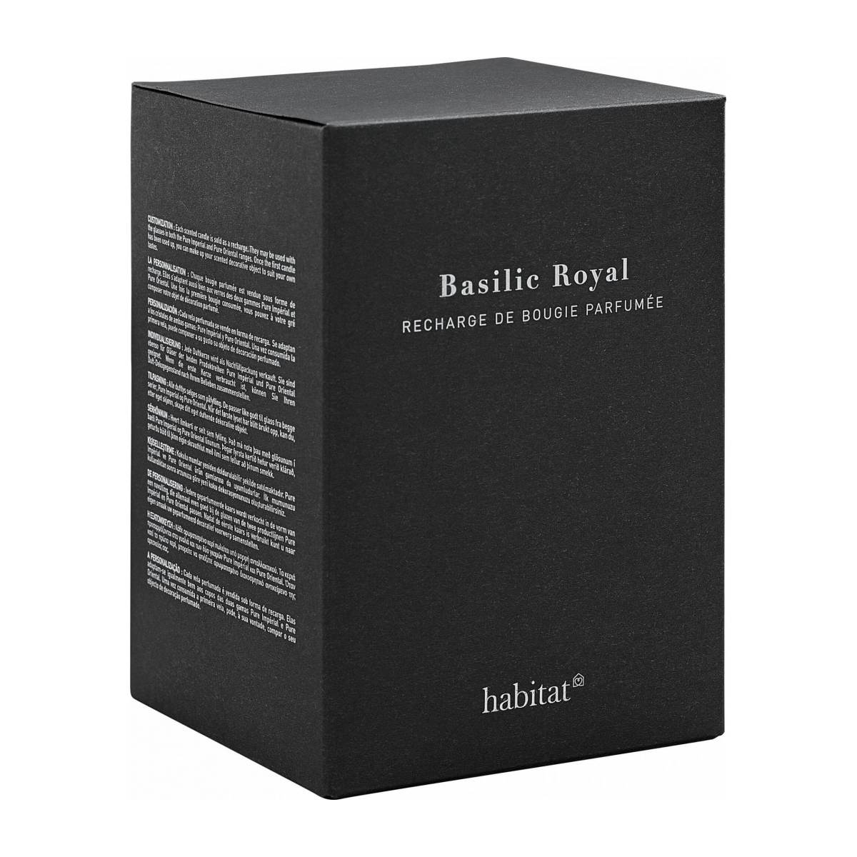 Basil scented candle gift set n°1