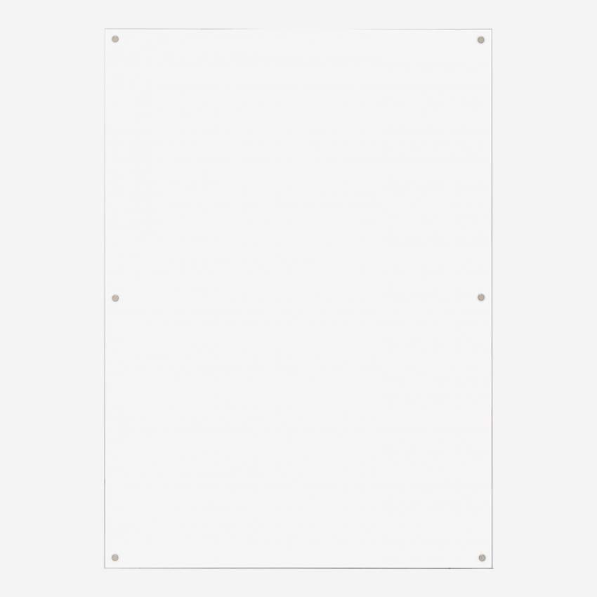 Acrylic magnetic wall frame - 50 x 70 cm - Transparent