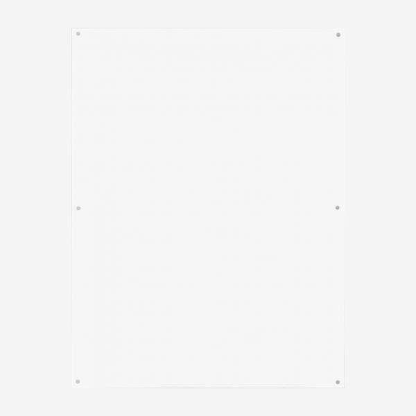 Acrylic magnetic wall frame - 60 x 80 cm - Transparent