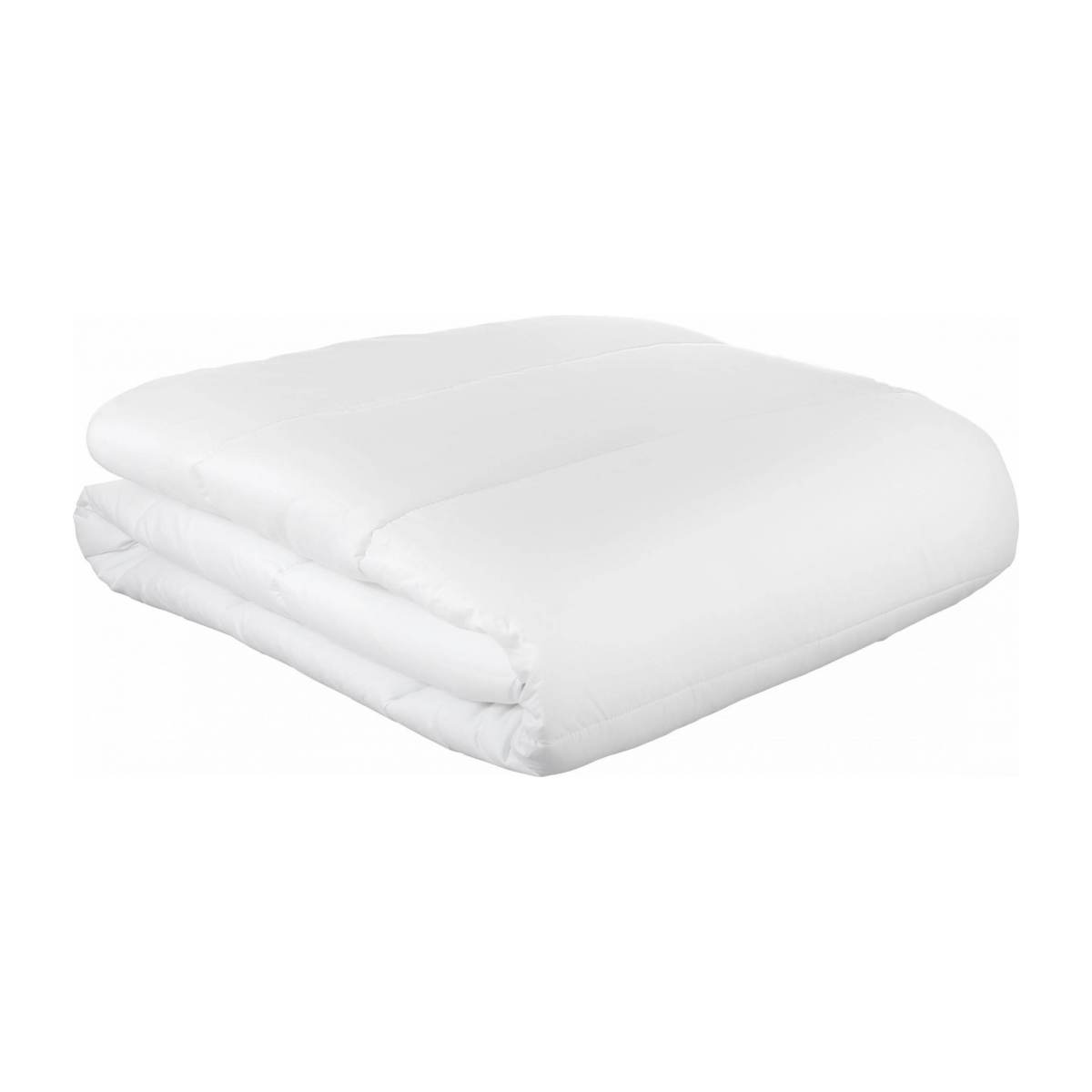Couette 240x220cm, 400g blanche n°1