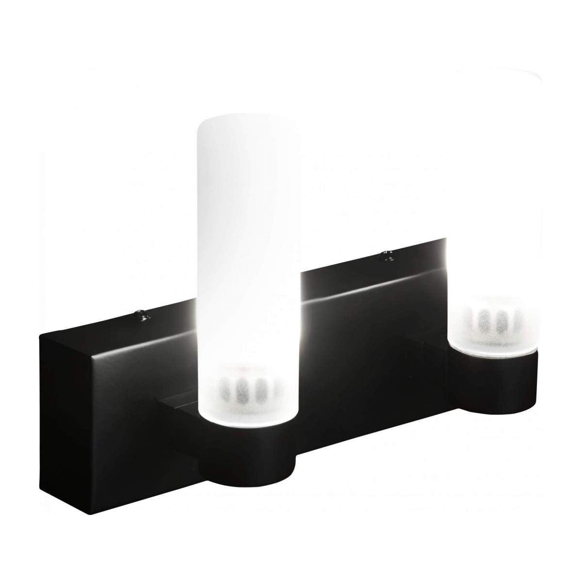 Applique LED norme IP44 matte - 2 lumières n°1