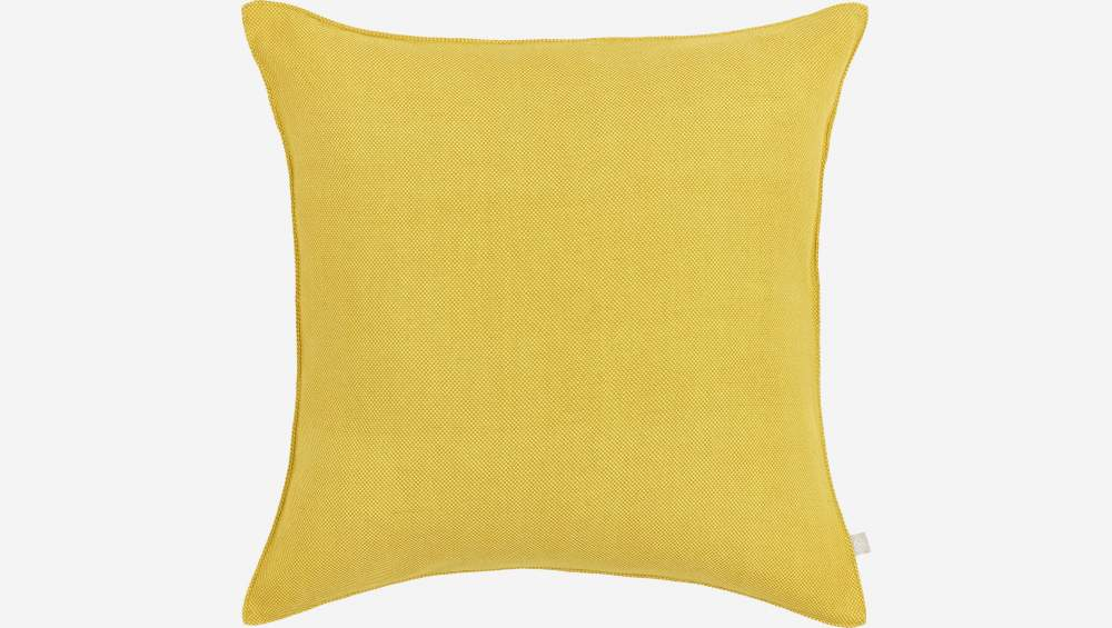 Yellow cushion 50x50cm