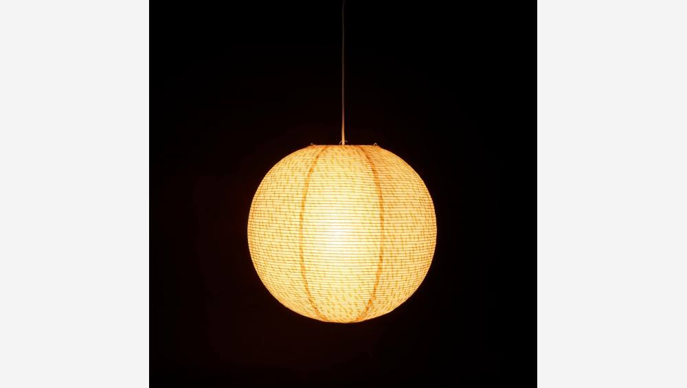 Lampshade made of paper
