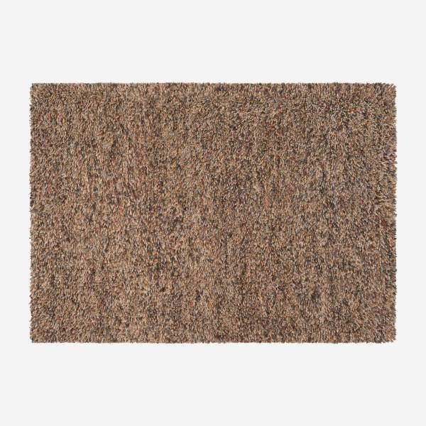 Woven shag carpet made of wool 240x170cm, with patterns
