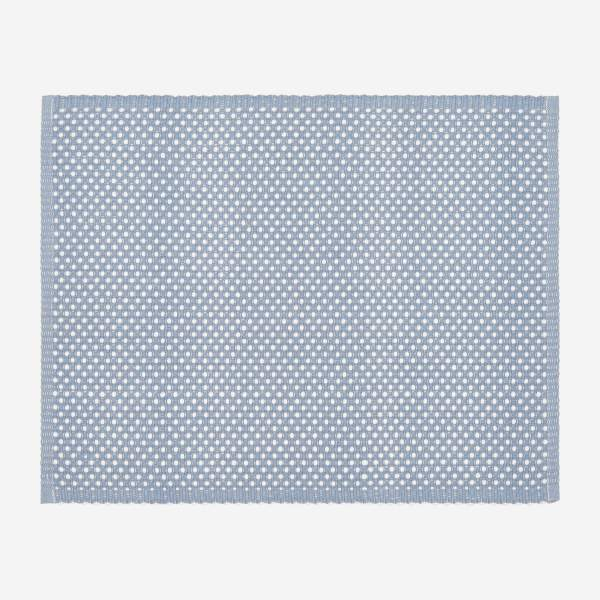 Placemat made of cotton 50x35cm, blue