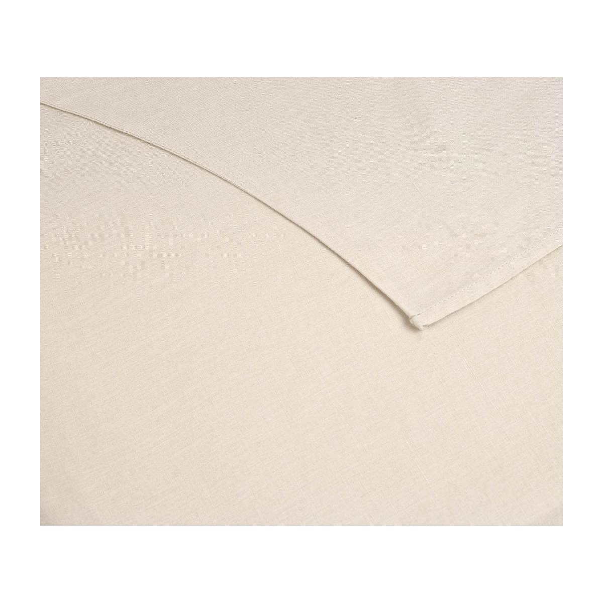 Duvet cover made of flax 200x200cm, natural n°3