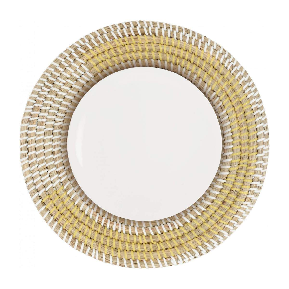 Set de table rond en jonc de mer - 35 cm n°3