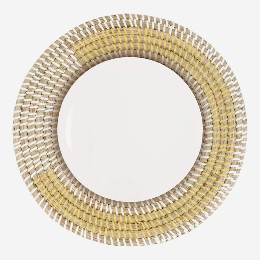 Set de table rond en jonc de mer - 35 cm