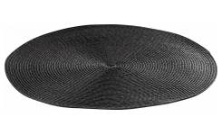 Set de table rond 38cm anthracite