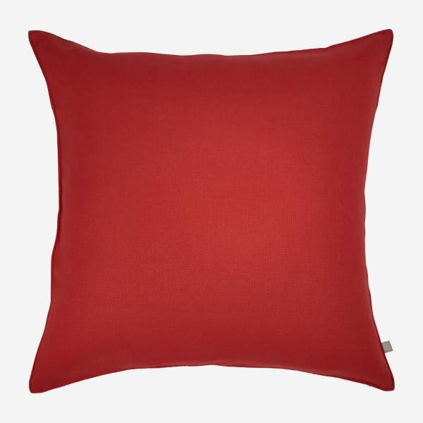 Red cushion 50x50cm