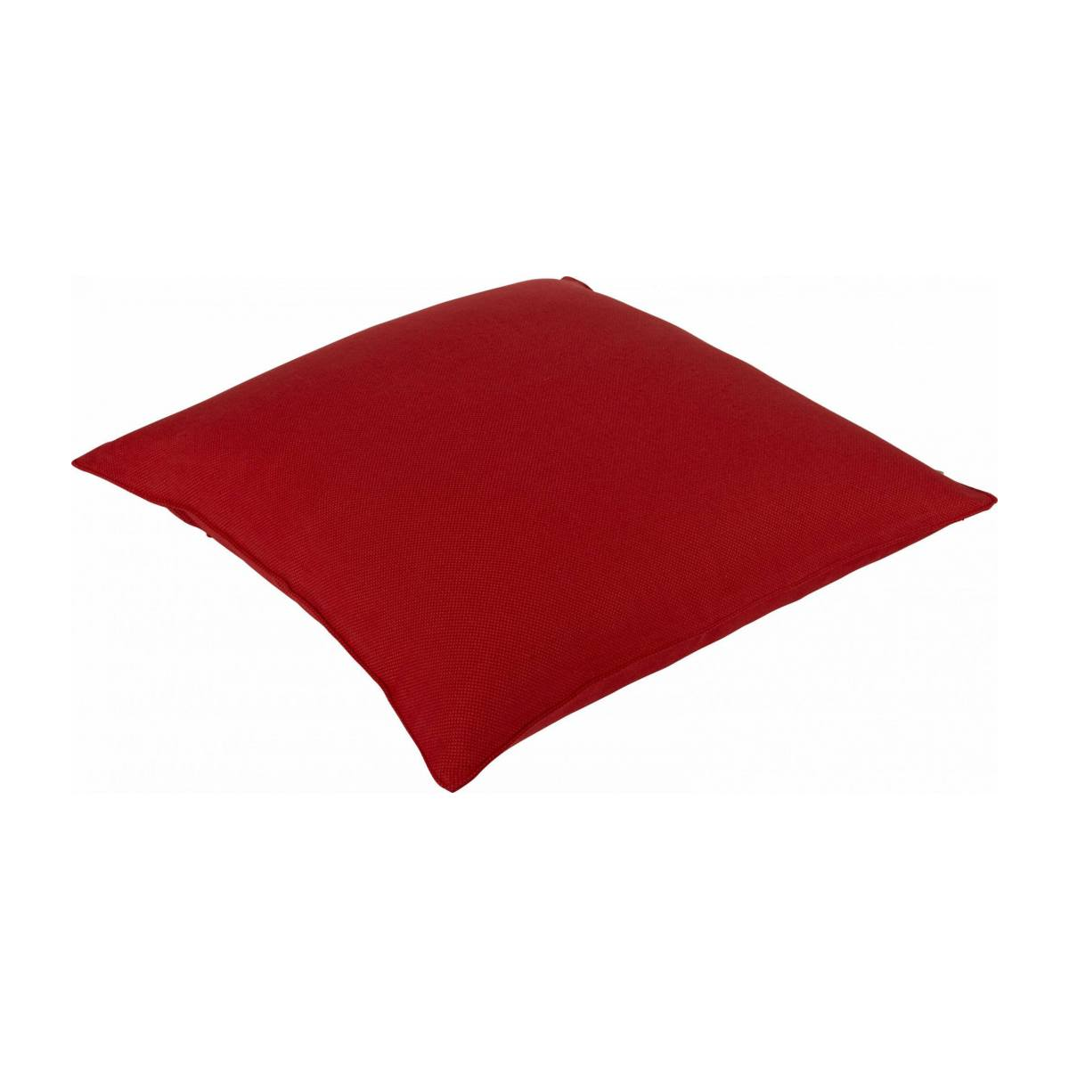 Red cushion 50x50cm n°2