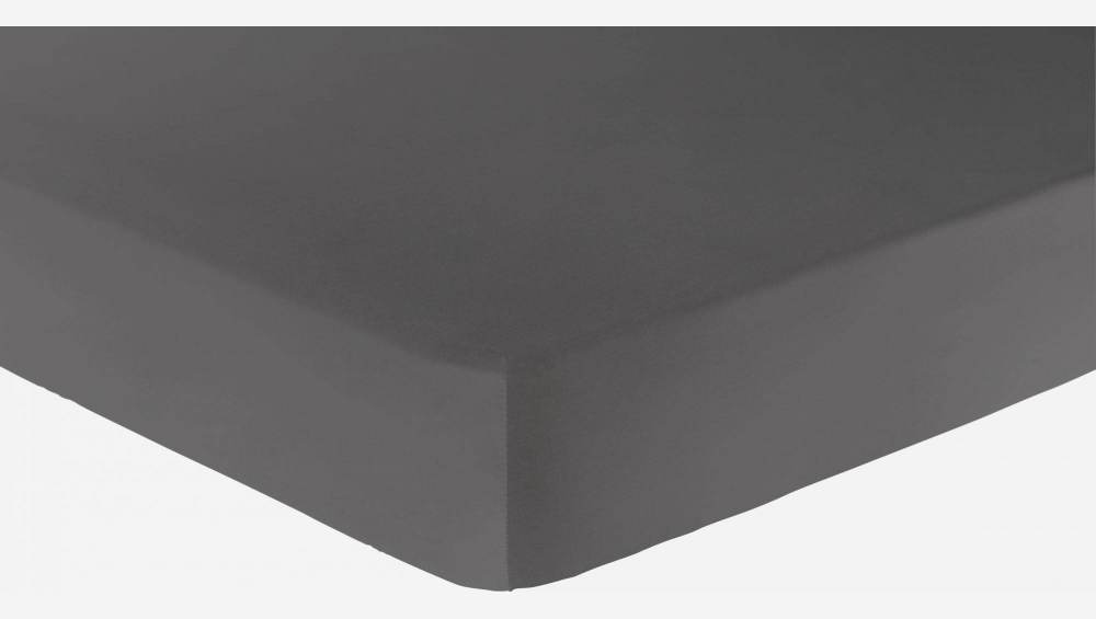 Fitted sheet 180 x 200 cm, grey