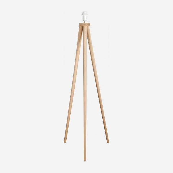 Beech floor lamp base - 130 cm