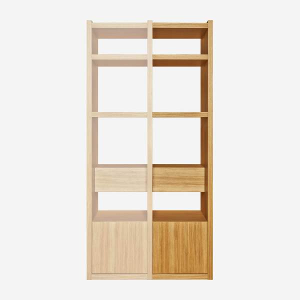 Extension for small oak shelving unit