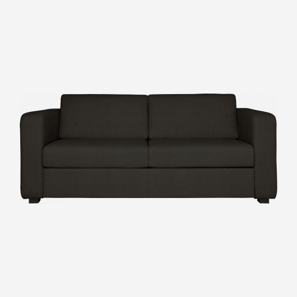 3-seater leather sofa