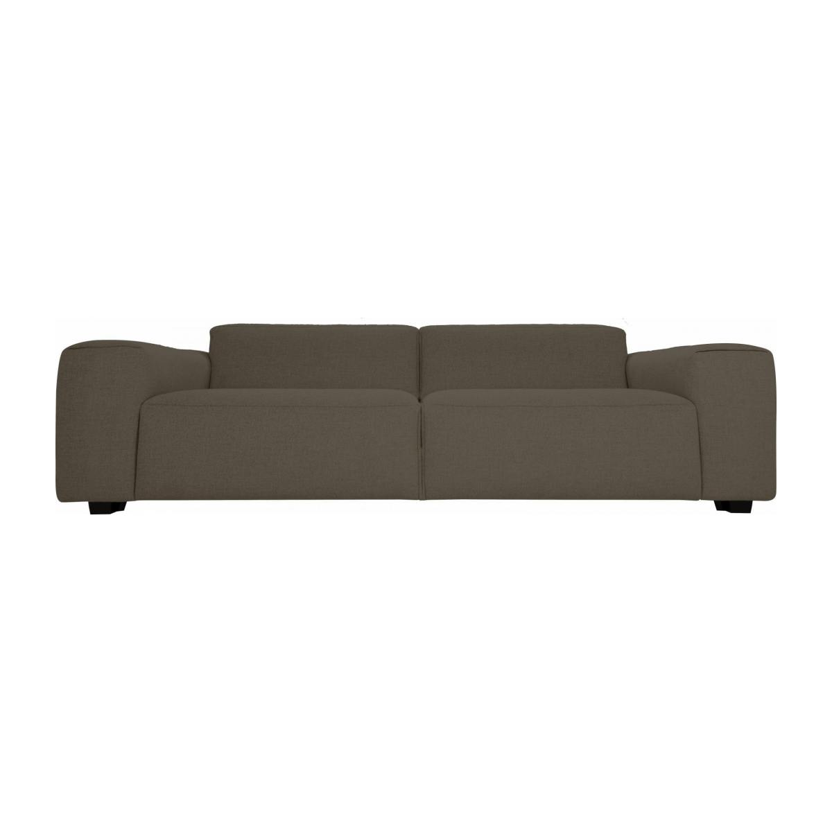4 seater sofa in Lecce fabric, muscat n°1