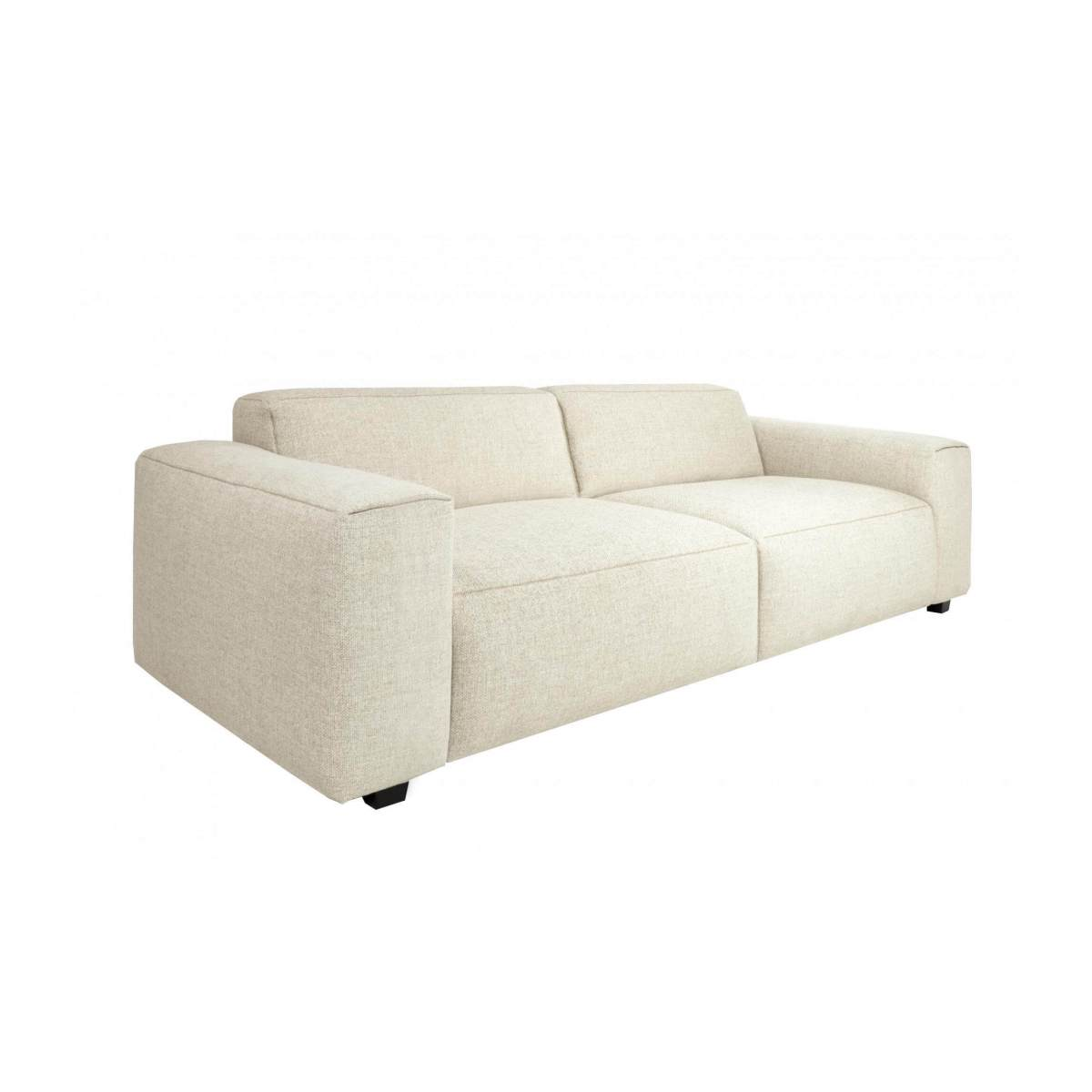 4 seater sofa in Lecce fabric, nature n°3