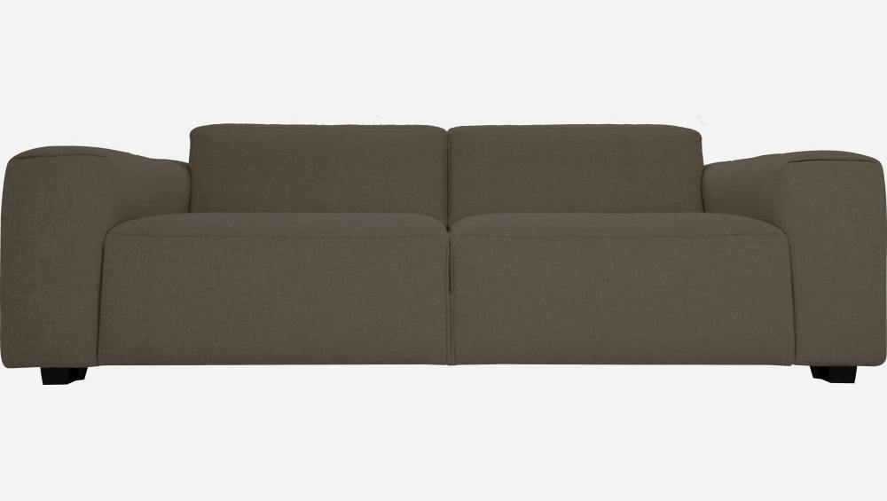3 seater sofa in Lecce fabric, muscat