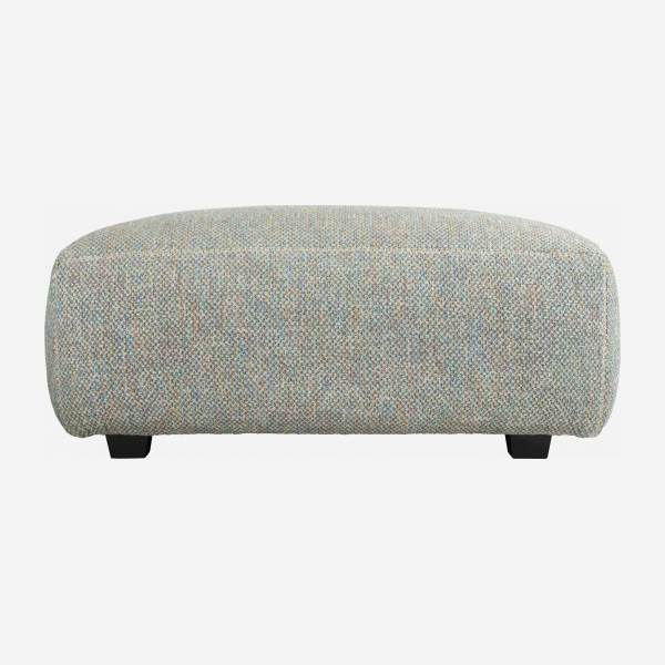 Hocker aus Stoff Bellagio organic green
