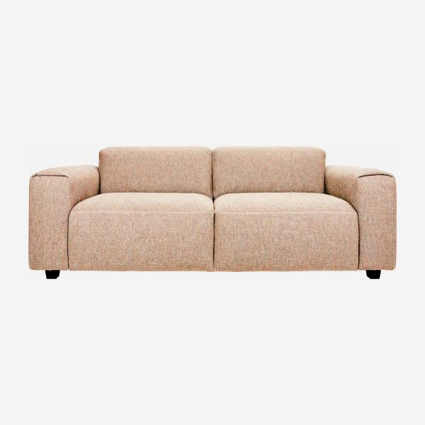 2-Sitzer Sofa aus Bellagio-Stoff - Orange