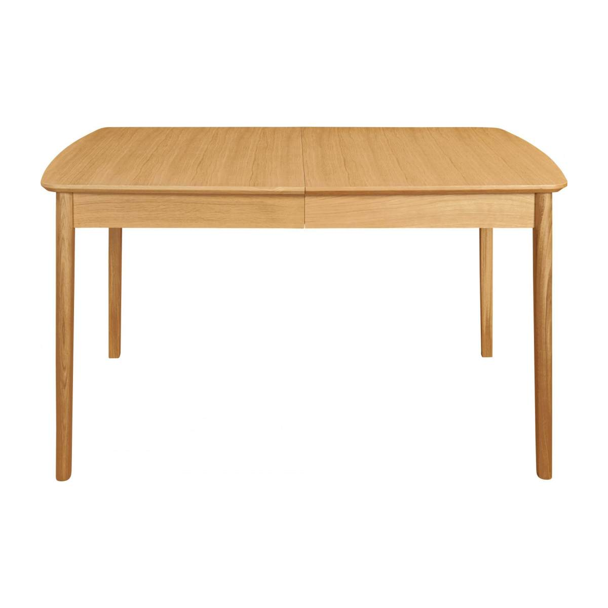 Extensible dining table made of ash n°1