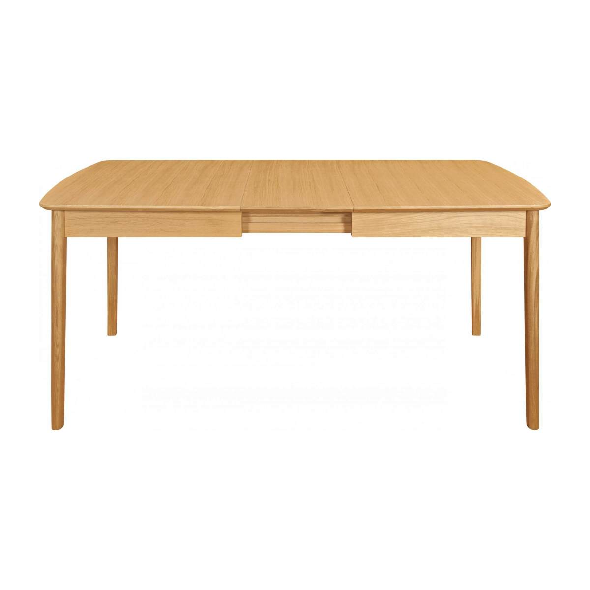 Extensible dining table made of ash n°2