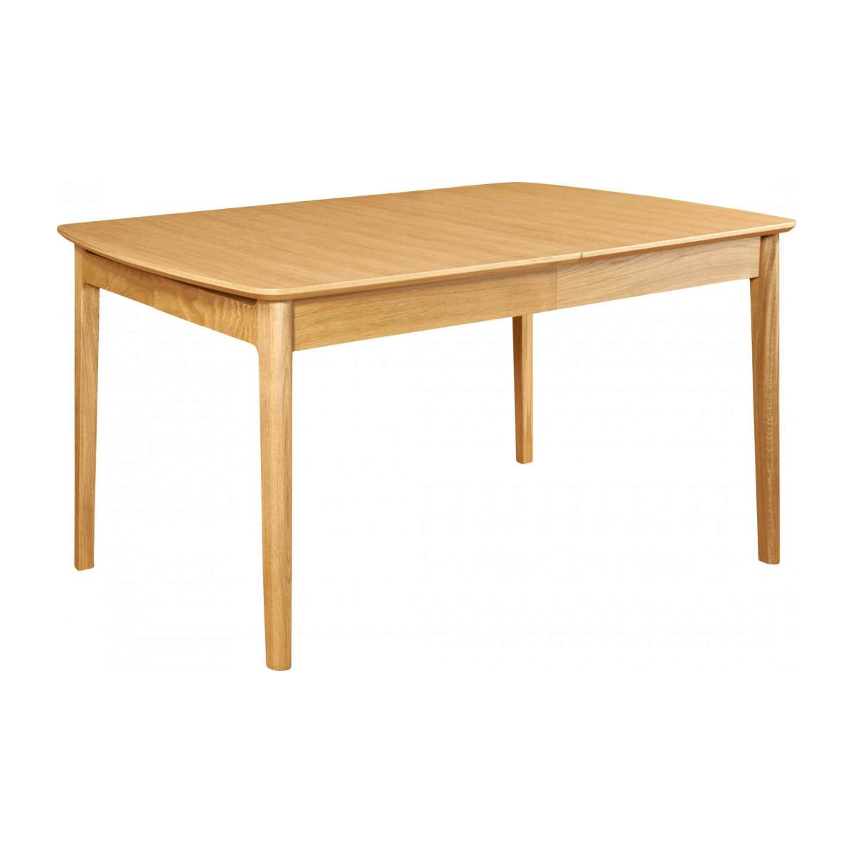 Extensible dining table made of ash n°8