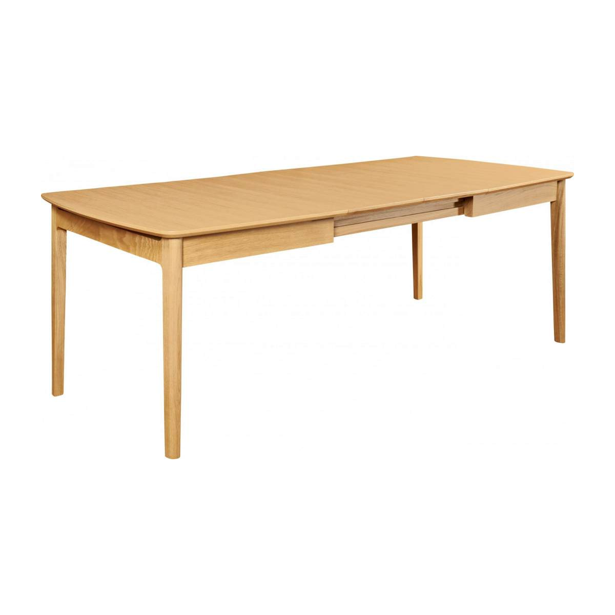 Extensible dining table made of ash n°6