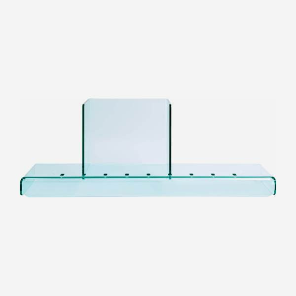 Shelf made of acrylic, transparent