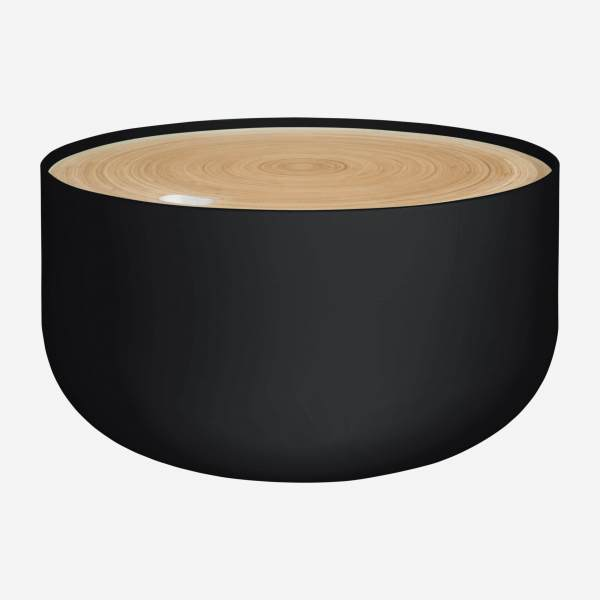 Black side table 60cm