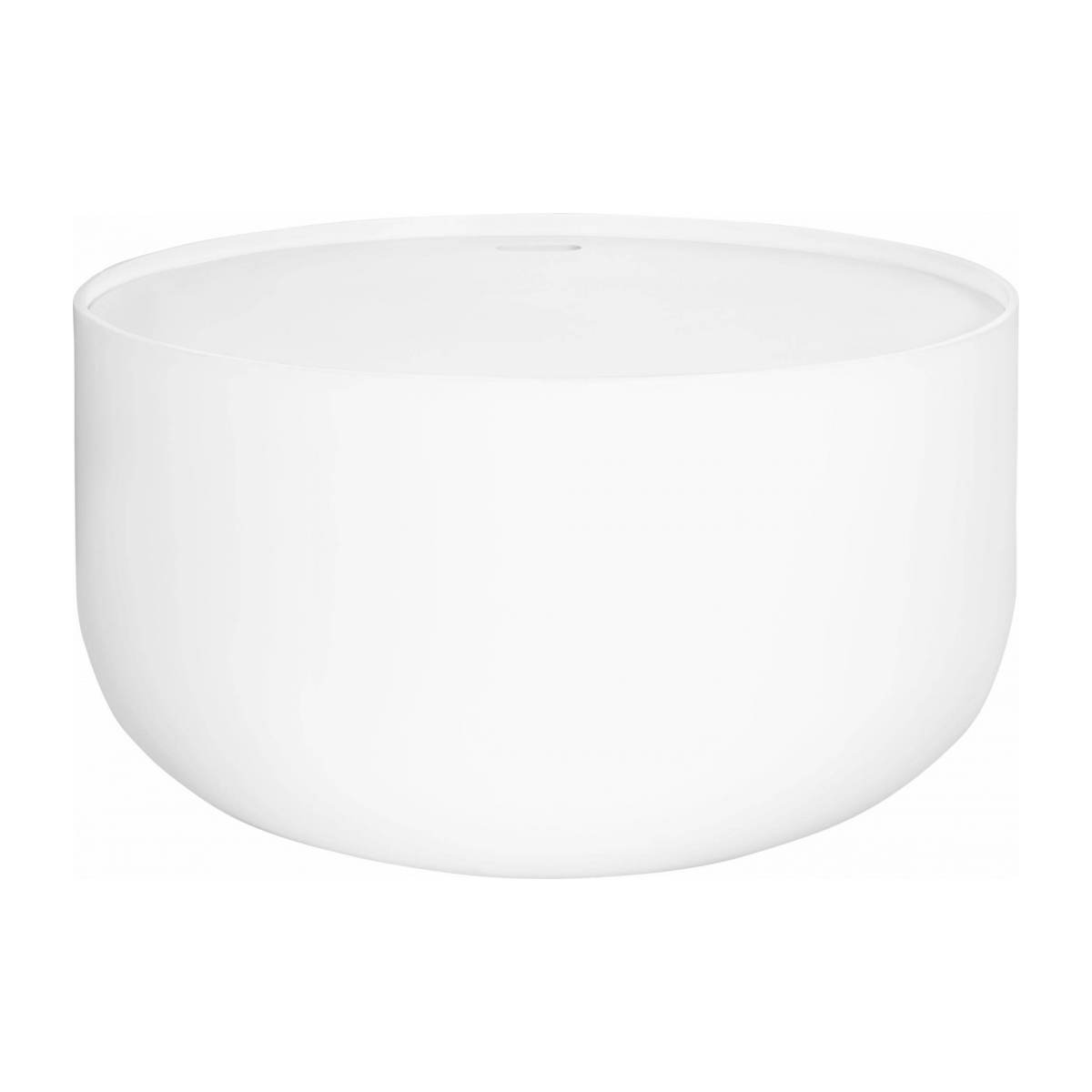 Table d'appoint 60cm blanche n°1