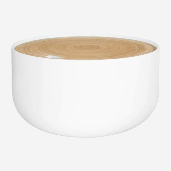 White side table 60cm
