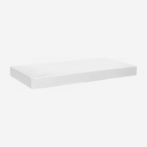 White high gloss shelf 60cm