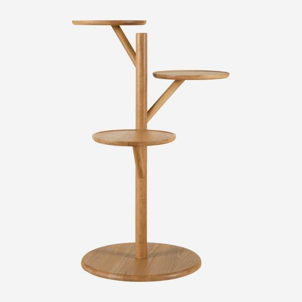 Oak side table  - Design by Baptiste Lanne
