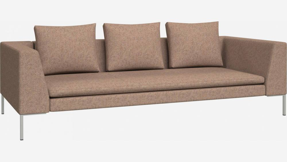 3-Sitzer-Sofa aus Bellagio-Stoff - Orange