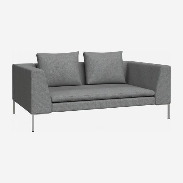 2 seater sofa in Lecce fabric, blue reef