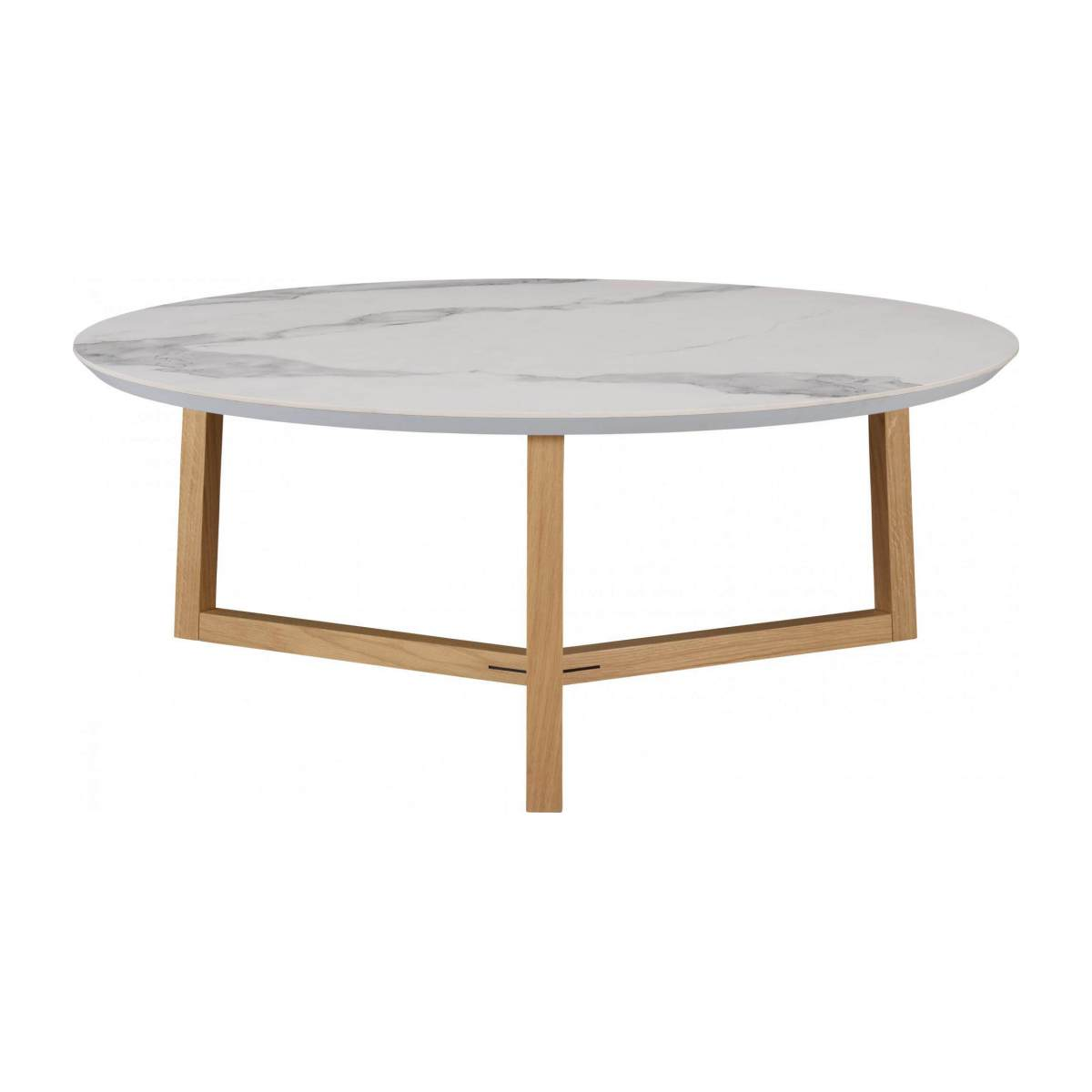 Low table in white marble n°1