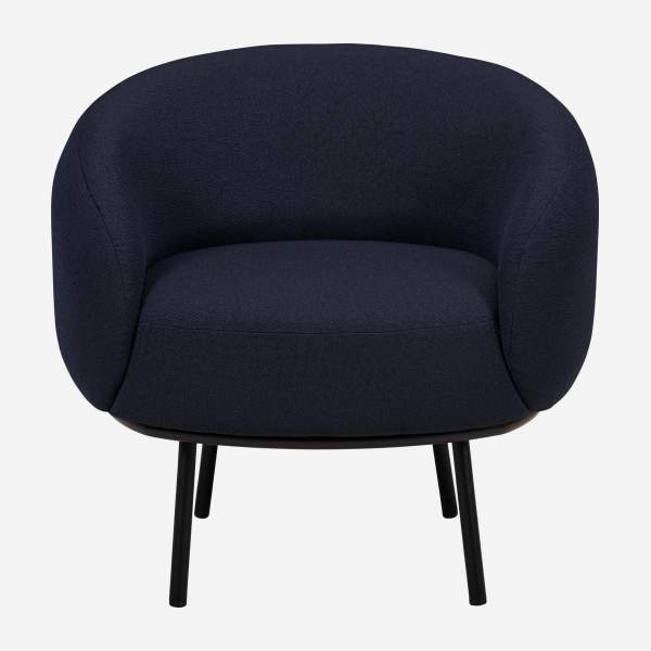 Sessel aus Stoff - Blau - Design by Adrien Carvès