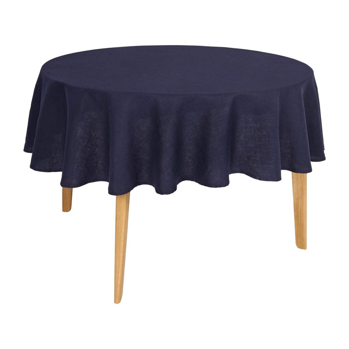 Round linen tablecloth  n°1