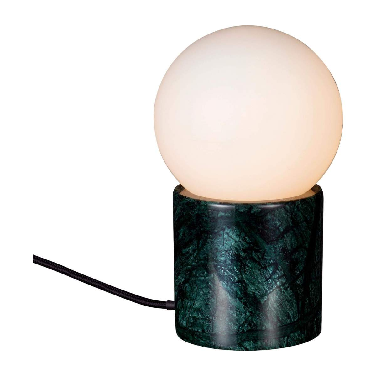 Lampe de table en marbre verre/Marble Table Lamp Green n°1