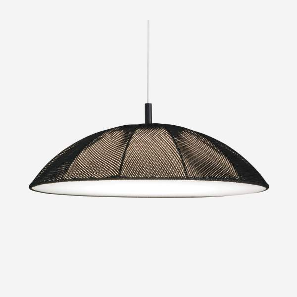 Suspension Studio en coton - Noir