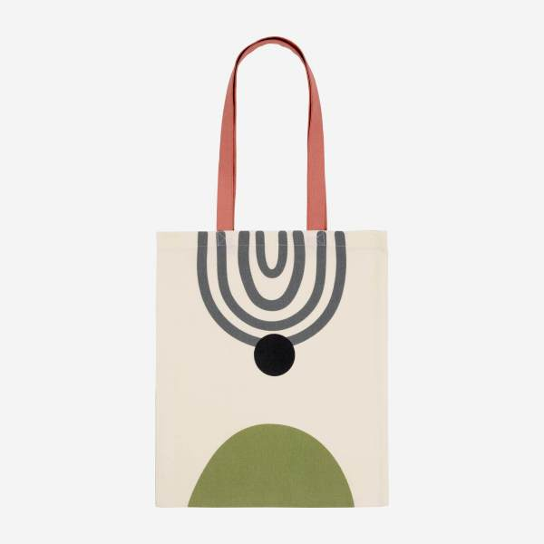 Sac de shopping en coton - 35 x 40 cm - Design by Floriane Jacques