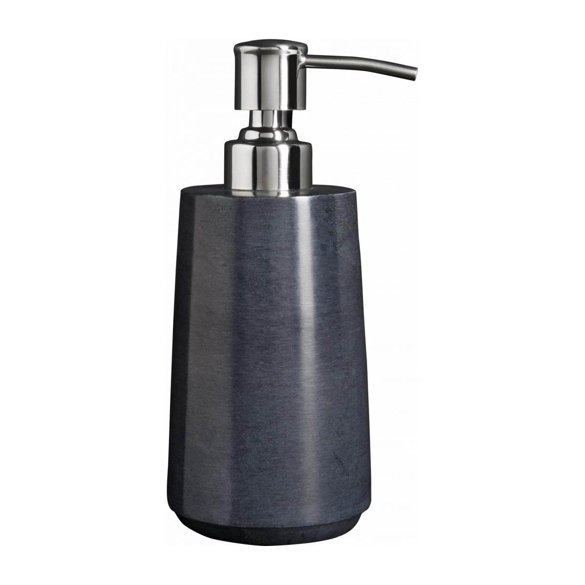Grey soapstone soap dispenser n°3