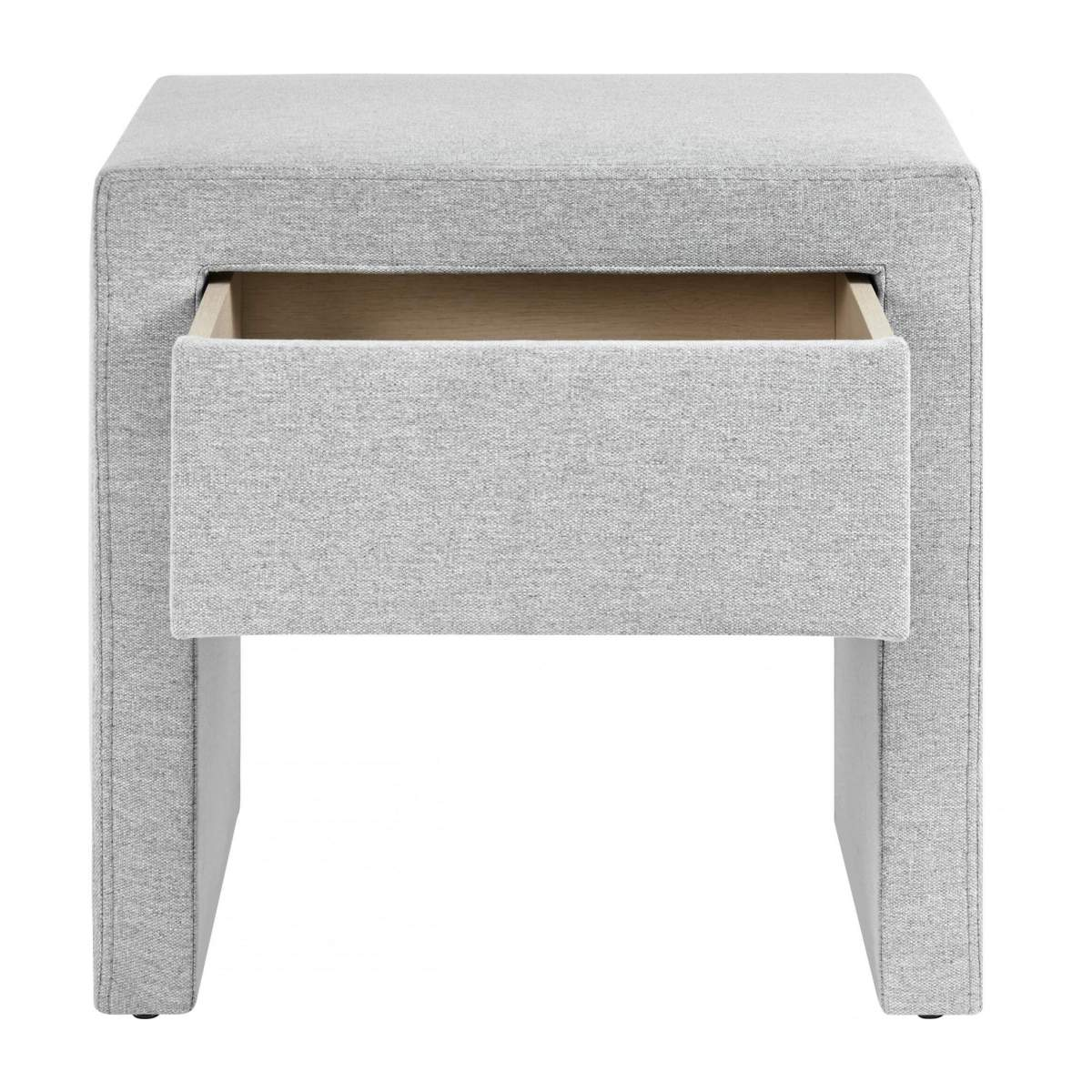 Fabric bedside table n°3