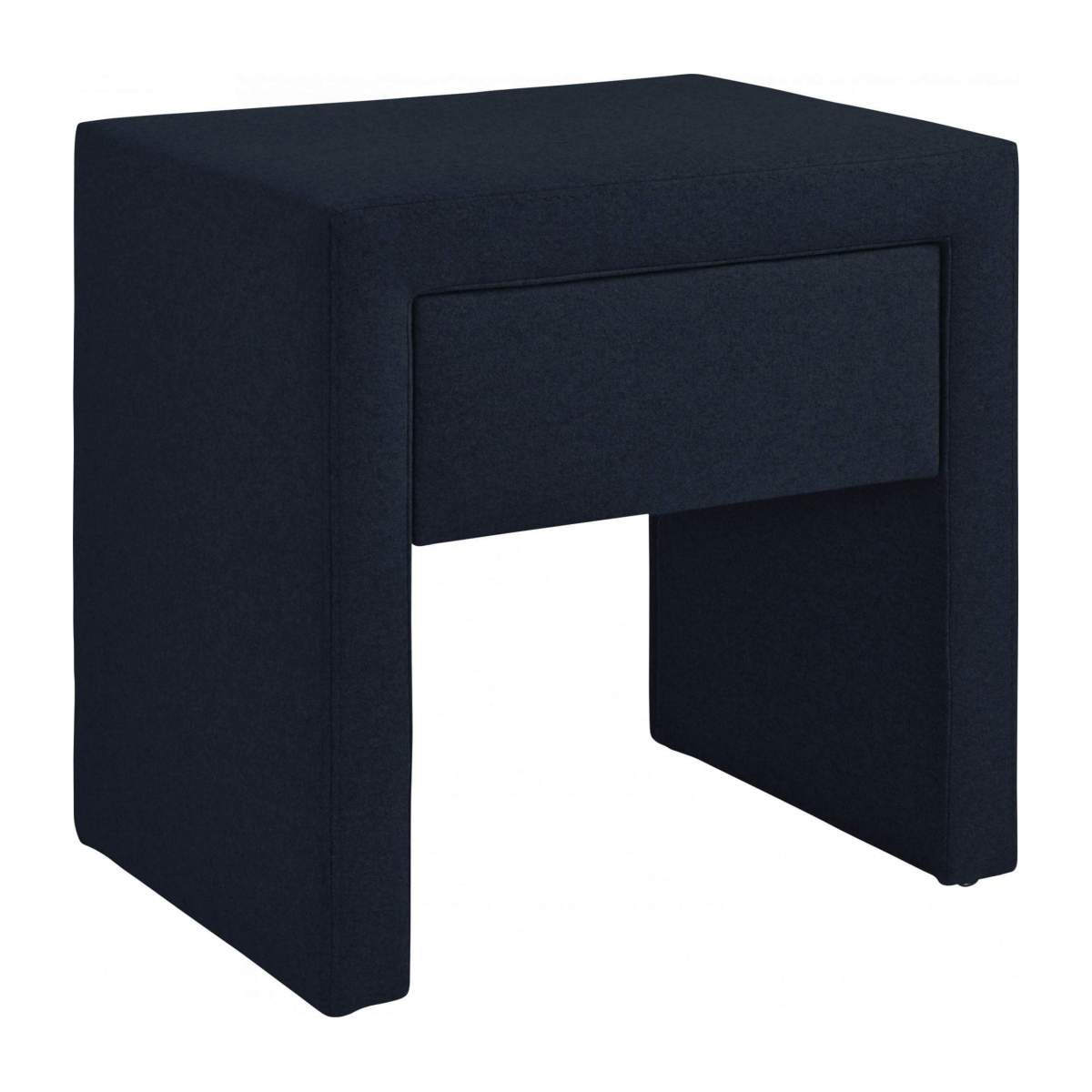 Fabric bedside table n°1