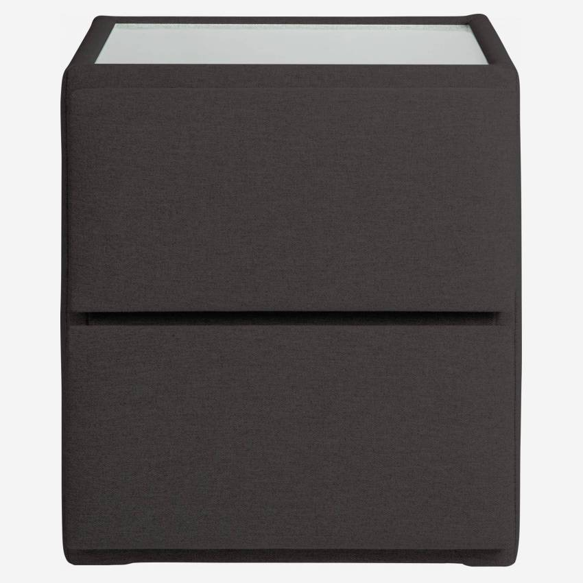 Fabric bedside table